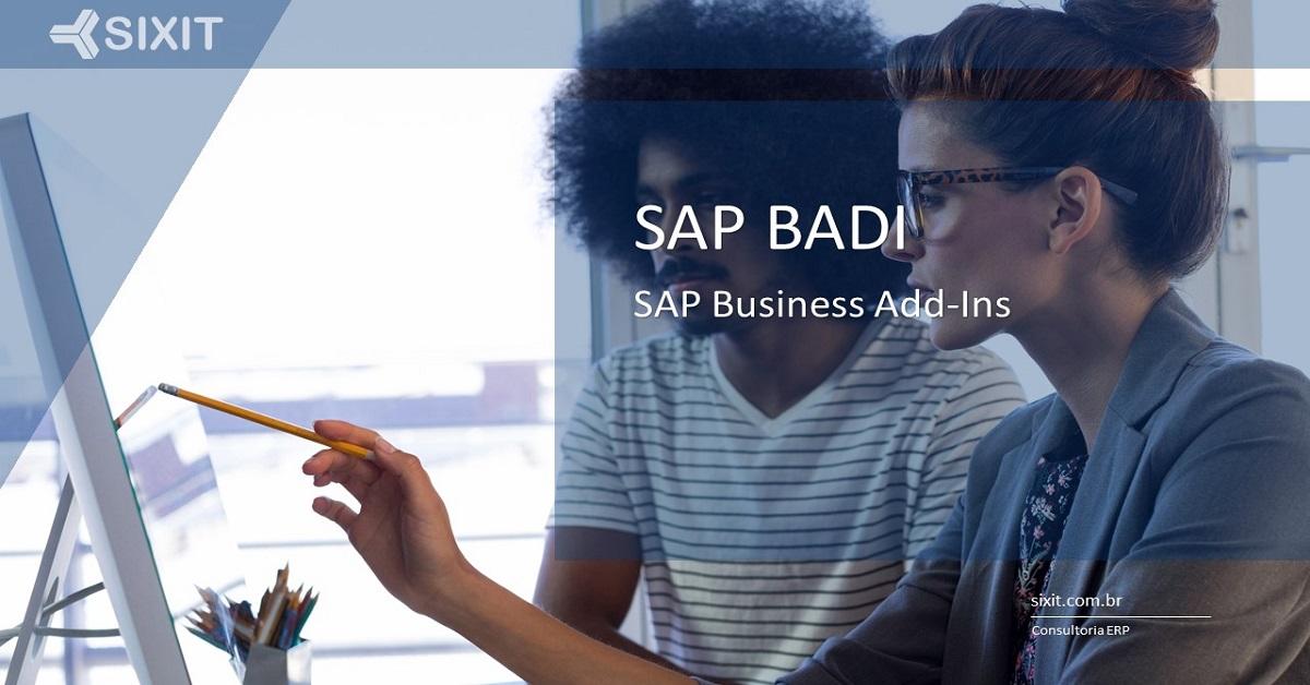 O que é SAP BADI